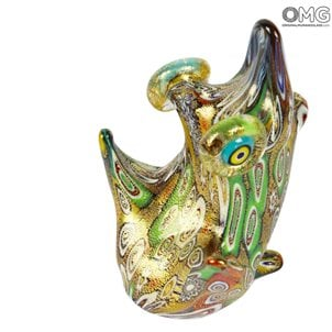 frog_murano_glass_with_millefiori_handmade