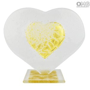 gold_and_crystal_heart_murano_glass_1_gift_idea