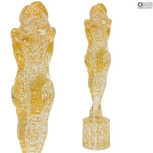 gold_lovers_murano_glass_sculpture_1