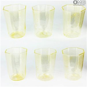 gold_octagonal_drinking_glasses_omg_murano22