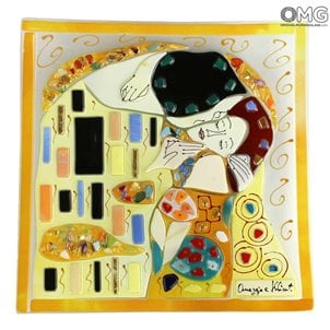 klimt_kiss_plate_murano_glass_3