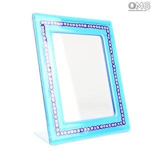light_blue_photo_frame_with_blue_millefiori
