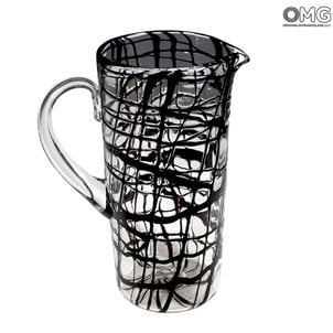 lines_murano_glass_pitcher_1