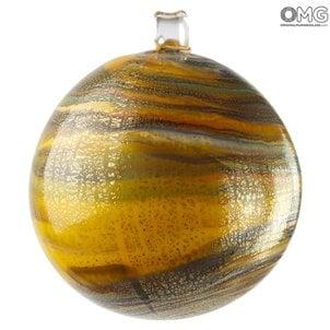 Orange_twisted_christmas_ball_with_murrine_1