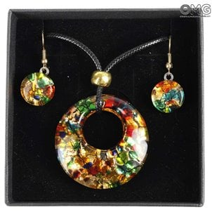 parure_planet_multicolor_murano_glass_1