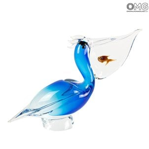 pélican_with_submerged_fish_original_murano_glass_1