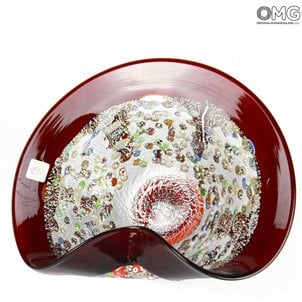 red_punk_centerpiece_murano_glass
