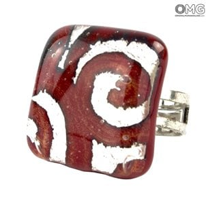 ring_with_silver_leaf_red_original_murano_glass_1