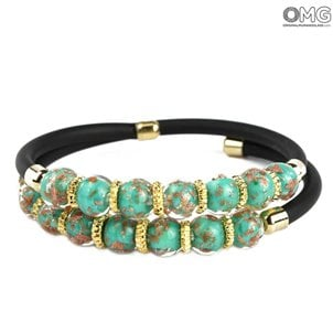 serena_bracelet_double_original_murano_glass_omg_green_marine