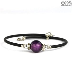 single_pearl_bracelet_purple_murano_glass_2