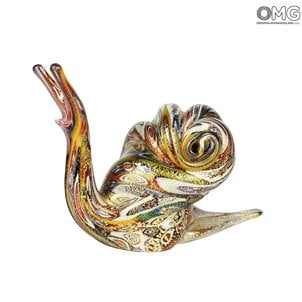 snail_murano_glass_with_millefiori_murrine