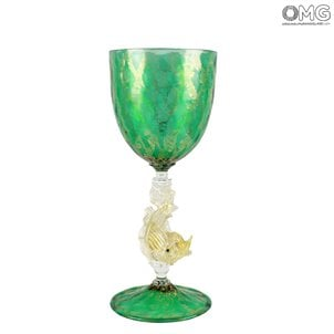 venetian_goblet_green_murano_glass_1