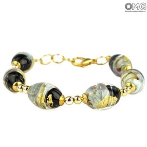 venus_chalcedony_bracelet_with_gold_murano_glass_1