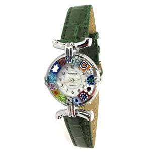 watch_lady_cromato_green_murano_glass_omg