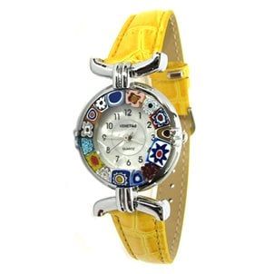 watch_lady_cromato_yellow_murano_glass