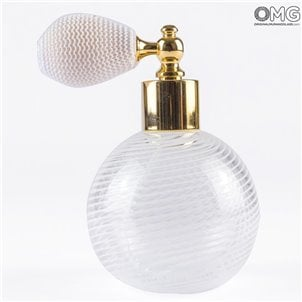 white_scent_profume_bottle_murano_glass_with_atomizer