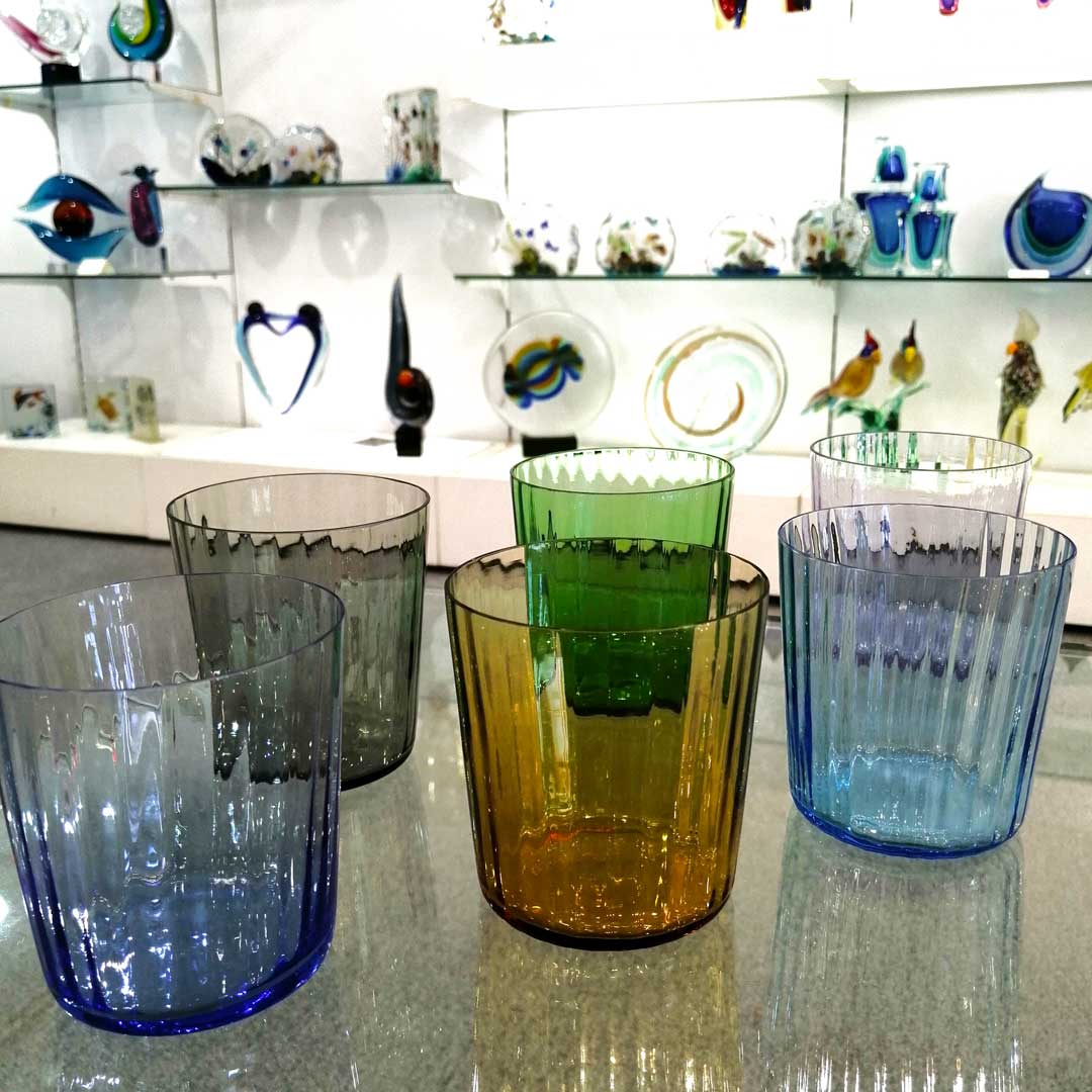 Drinking Glass Tumbler Set - Classic
