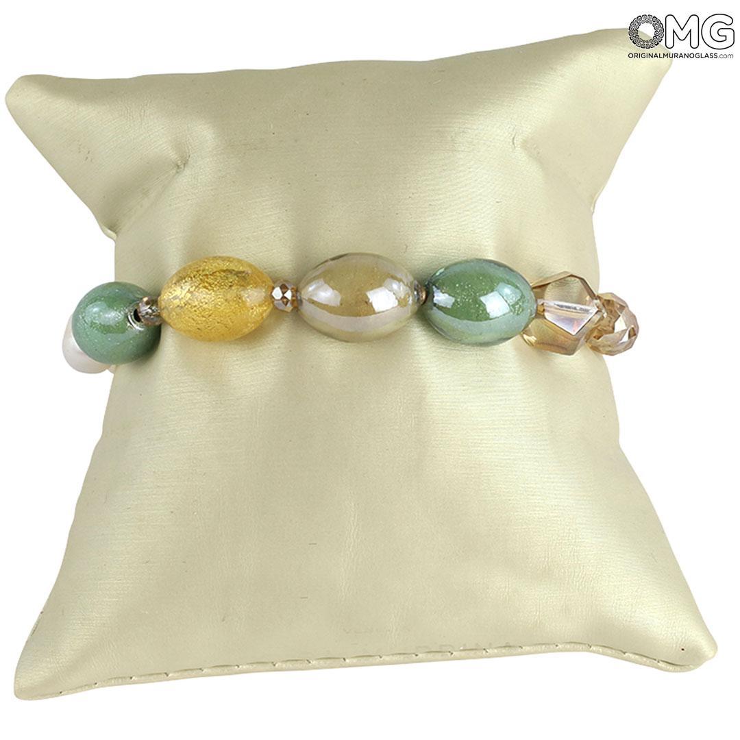 Sea Sand 2 Bracelet - Antica Murrina Collection - Original Murano Glass