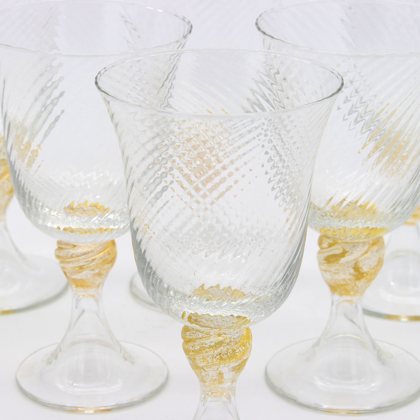 Torcée Water Drinking glasses - Set of 6 pieces