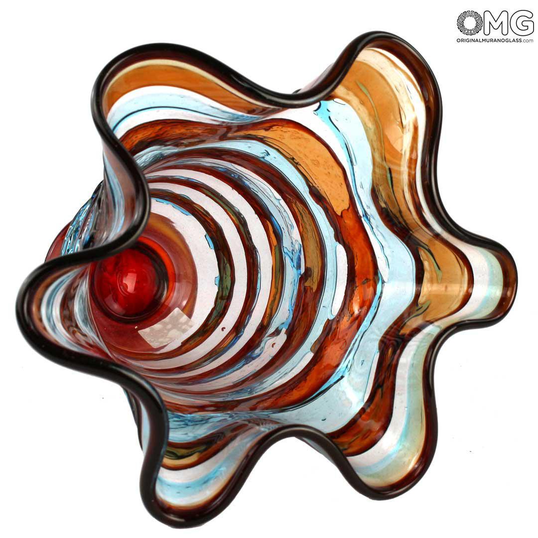 Sbruffi Vase Ulysses- Blown glass
