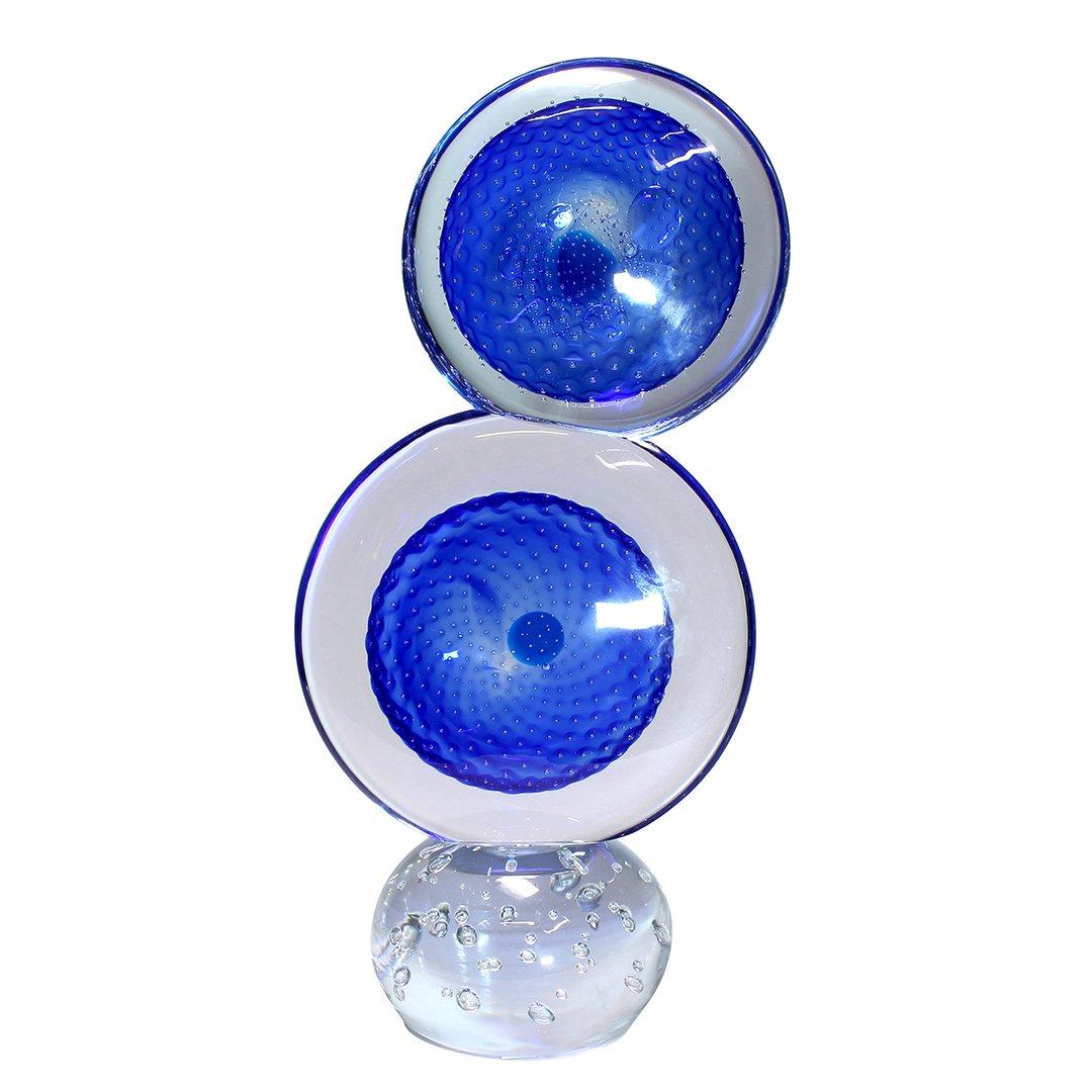 Double Blue - Original Murano Glass OMG®