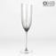 DRINKING GLASS FLUTE WINE SET - TWISTED