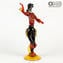 Flamenco Dencers Figurines - Red - Original Murano Glass OMG