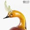 Couple of Parrots - Glass Sculptures - Original Murano Glass OMG